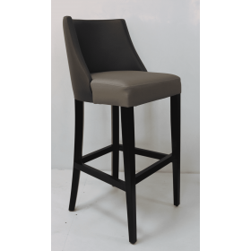 Horatio bar stool RFU seat & back raw