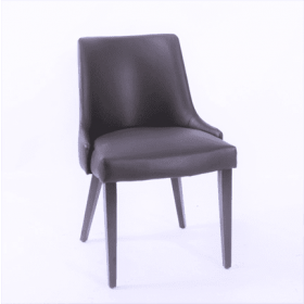 Anton side chair RFU seat & back raw