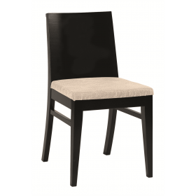Taylor side chair RFU seat & veneer back raw