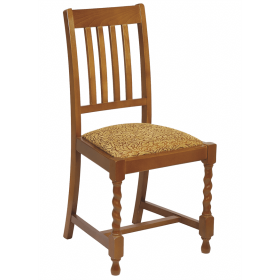 Dalham side chair RFU seat raw
