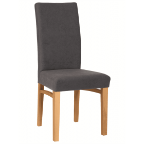Holly side chair RFU seat & back raw