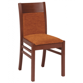 Coco side chair RFU seat & back raw