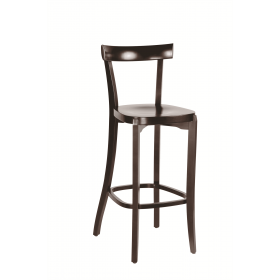 Bon bar stool veneer seat raw