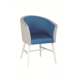 Fiona tub chair RFU seat & back raw