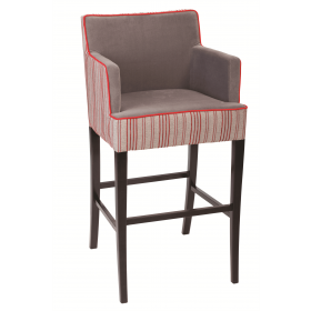 Jane bar chair RFU seat & back raw