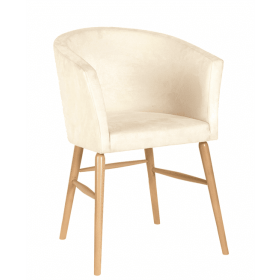 Freya tub chair RFU seat & back raw