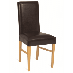 Hannah side chair RFU seat and back raw