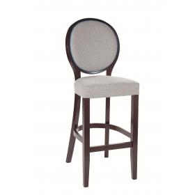 Elizabeth bar stool RFU seat and back raw