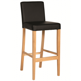 Hannah bar stool RFU seat and back raw