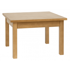 PRIMA SM SQ COFFEE TABLE SOLID BEECH