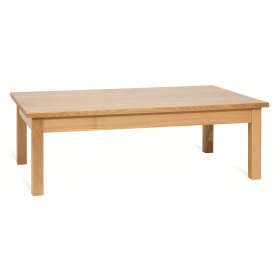 PRIMA RECT COFFEE TABLE SOLID BEECH