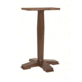 ASCOT LG BAR 4 LEG BASE SOLID BEECH RAW