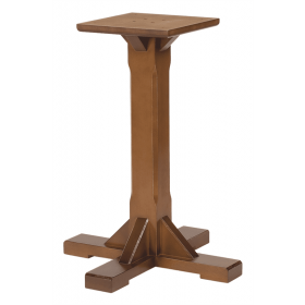 WASHINGTON SM 4 LEG BASE SOLID BEECH RAW
