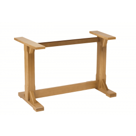 WASHINGTON TN 4 LEG BASE SOLID BEECH RAW
