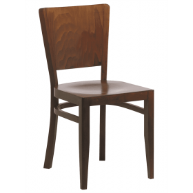 Oregon side chair veneer seat and back