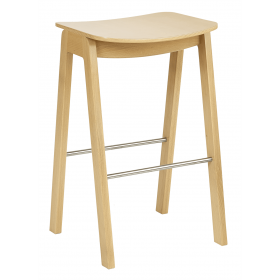 Croxley high stool veneer seat raw