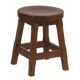 Galway low stool solid seat