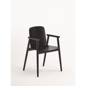 Pinner armchair veneer seat & back raw