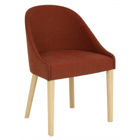 Lambeth armchair RFU seat & back raw