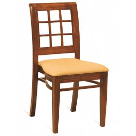 Washington stacking side chair RFU seat raw