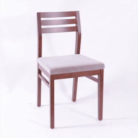 Armacord triple rail side chair RFU seat raw