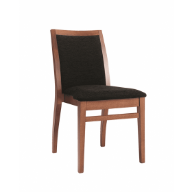 Frida stacking side chair RFU seat & back raw
