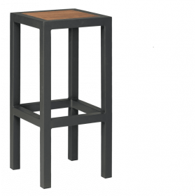 BREW HIGH STOOL TEAK