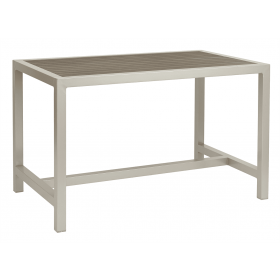 BREW EZICARE RECT TABLE GREY 1200X750mm
