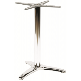 BREEZE LG 3 LEG BASE STAIN STEEL POL DIN