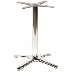 BREEZE LG 4 LEG BASE STAIN STEEL POL DIN