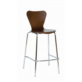 VENUS BAR STOOL SHELL ONLY WENGE