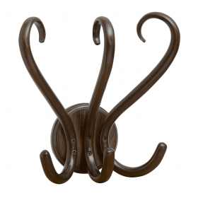 BENTWOOD COAT HOOK FAN
