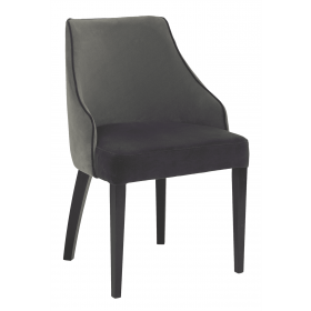 Hanover side chair RFU seat and back raw