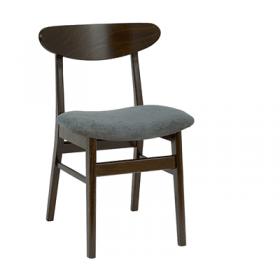 Upton side chair RFU seat & veneer back raw