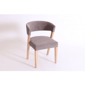 Manhattan side chair RFU seat & back raw