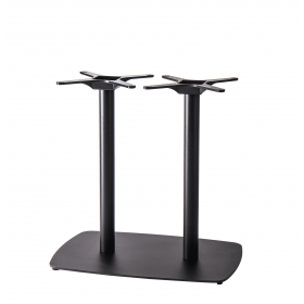 Tarot twin table base black dining height