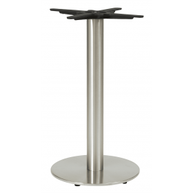 HORIZON SMALL RD DINING BRUSHED