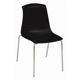 ADELAIDE STK SIDE CHAIR SOLID COLOUR