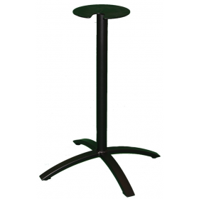 BRIDGE SMALL 4 LEG BASE BLACK DINING