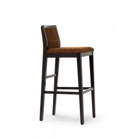 Fully bar stool RFU seat & back raw