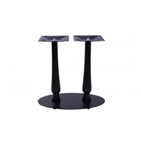 HEBE TWIN OVAL BASE BLACK DINING