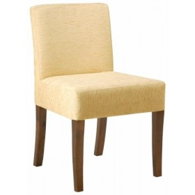 Jane side chair RFU seat & back raw