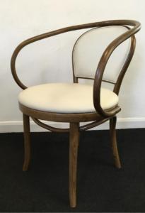 Ella armchair RFU seat and back raw option