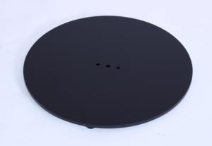 Zeta medium round thin fix base only