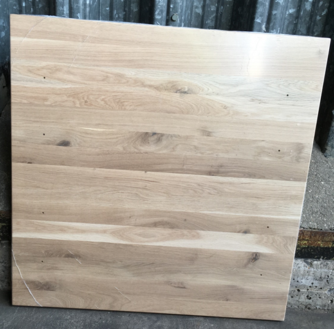 30mm Character Oak Square Top